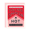 Smokin Hot Card