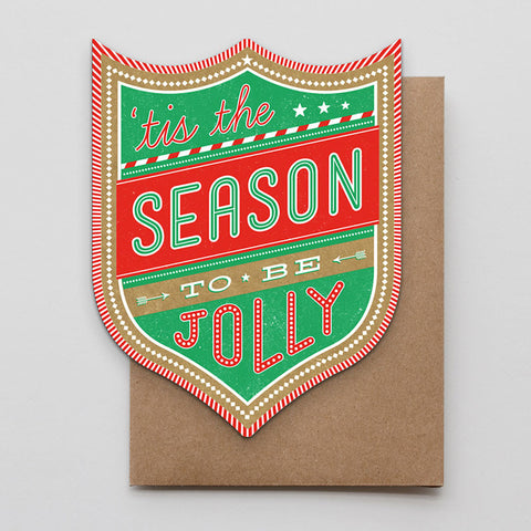 Jolly Season Shield Card