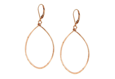 Hanna Rose Gold Earrings