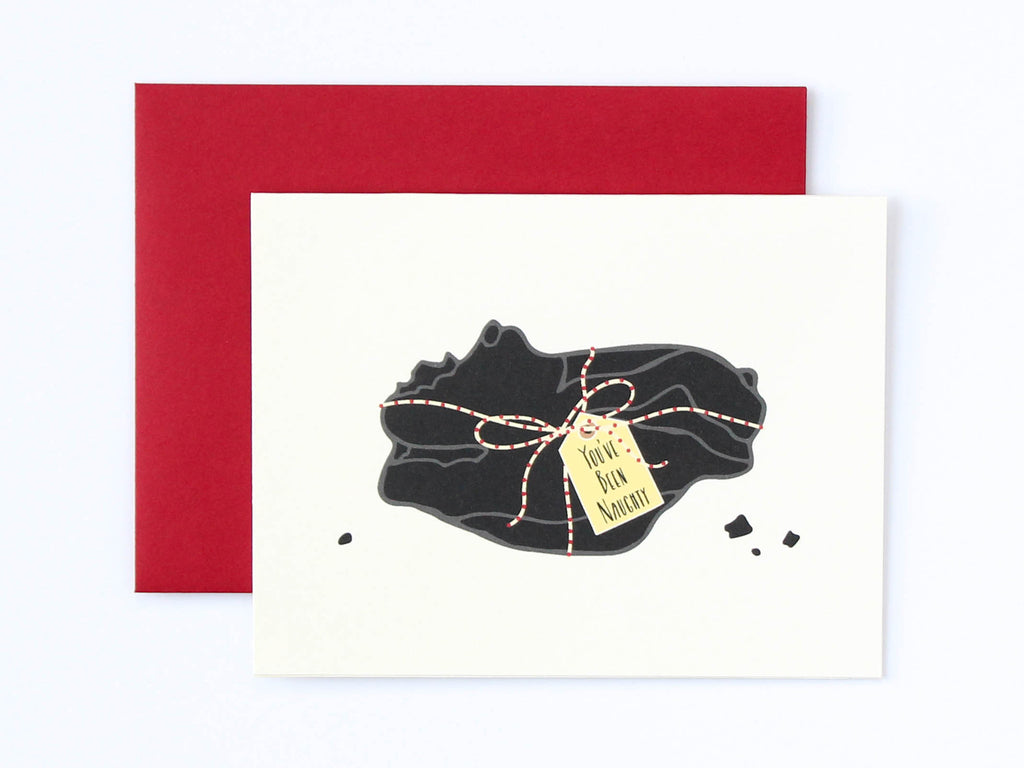 Lump of Coal Card