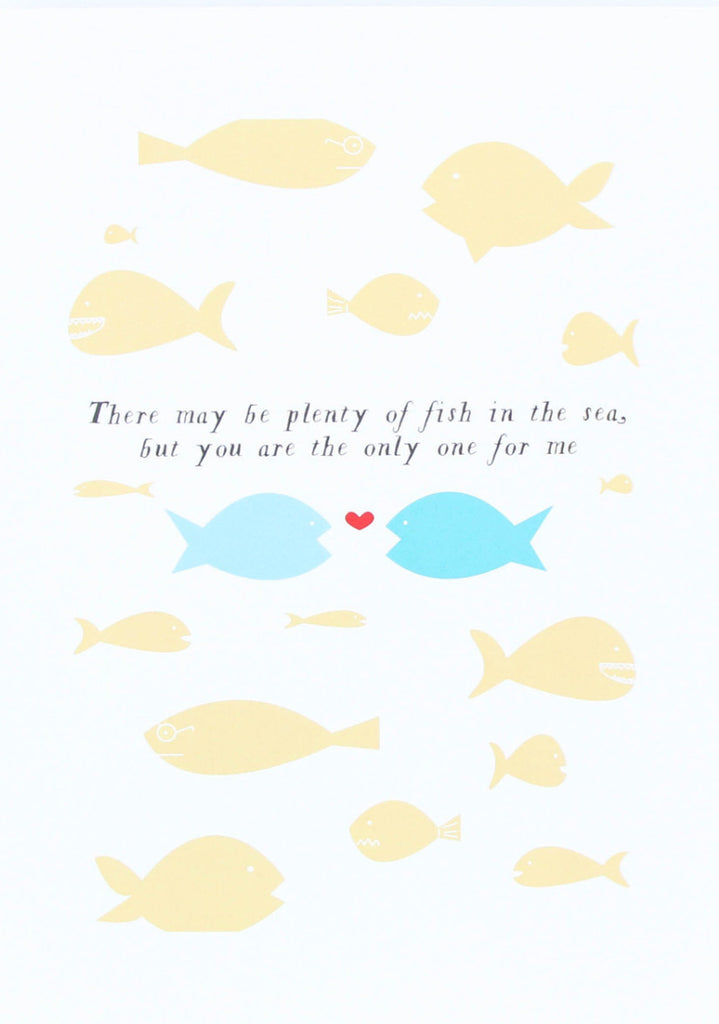 Fish in the Sea Art Print