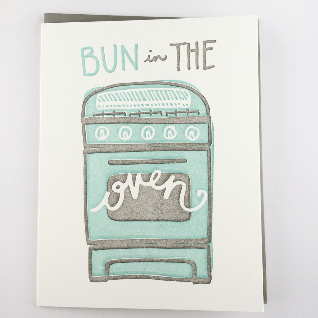 Bun in the Oven Card
