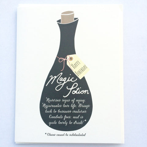 Magic Potion Birthday Card
