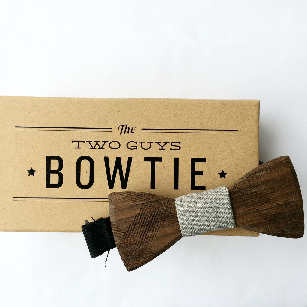 Kid-Size Floyd Wooden Bow Tie