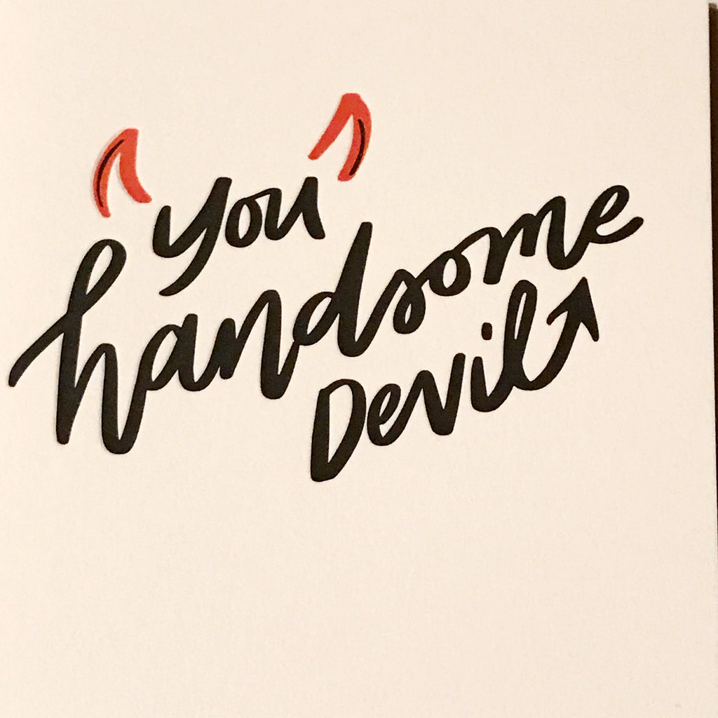 Handsome Devil Card