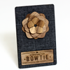 Jamestown Wooden Lapel Flower