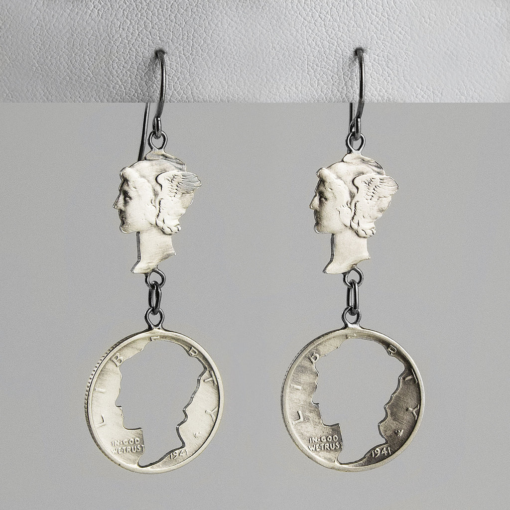 M.I.A. Mercury Earrings