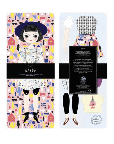 Olive Paper Doll Kit - Special Edition