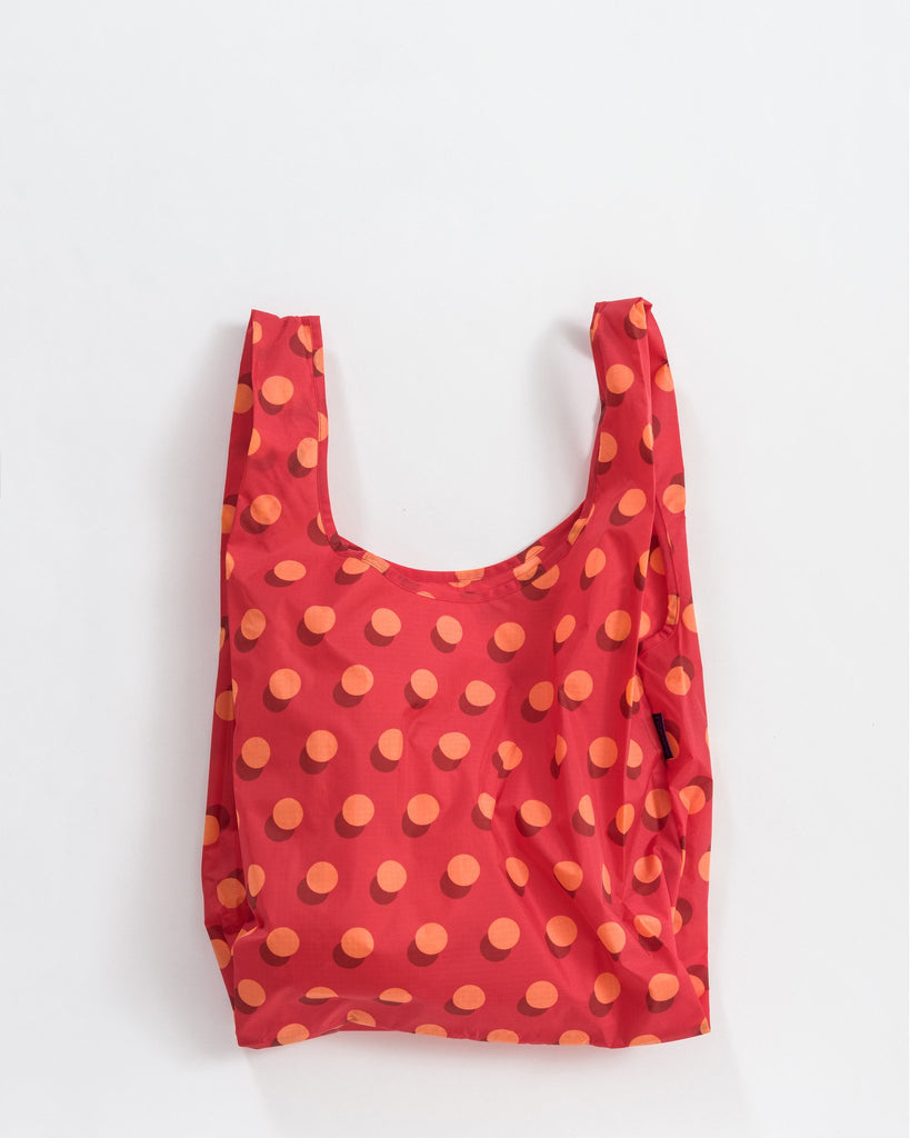 Baggu Reusable Bag - Red Disco Dot