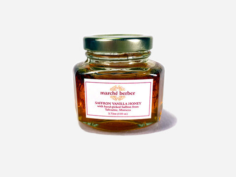 Saffron Vanilla Honey