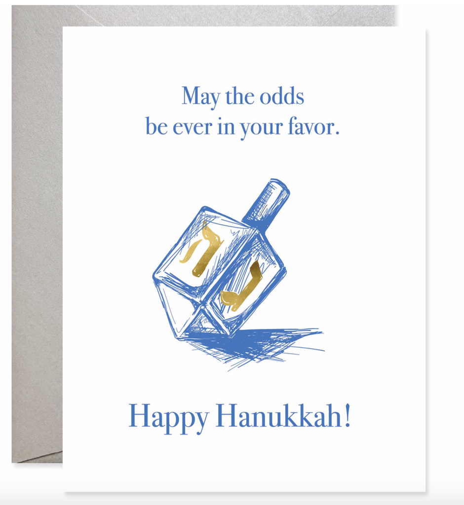 Odds in Your Favor Hanukkah Card