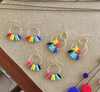 Rainbow Hoop 1 Earrings
