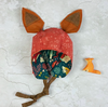Bonnet with Removable Ears - Nature Teal