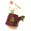 Tree Stump Key Chain
