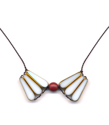 White Wings Necklace