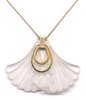 Lucite Wings Necklace