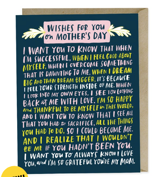 Wishes Mother's Day Card