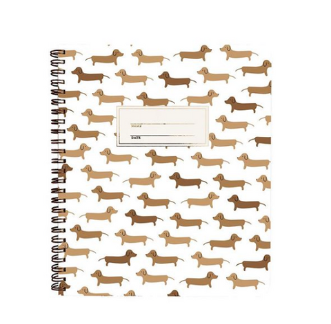 Dachsund Notebook