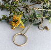 Joie Lover Gold Ring Necklace