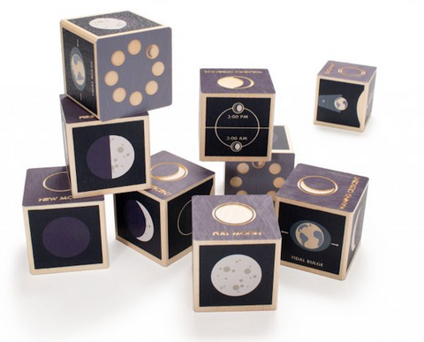 Phases of the Moon Blocks