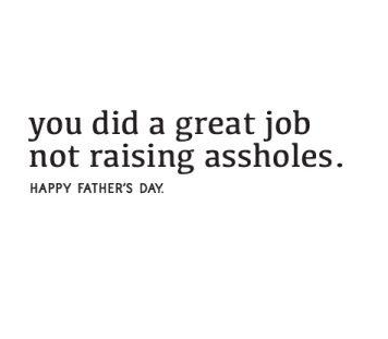 Great Job Father's Day Card