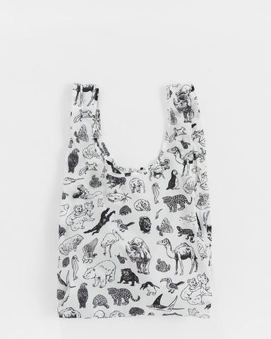 Baggu Reusable Bag - Zoo (Jason Polan)