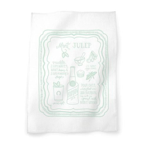 Mint Julep Tea Towel