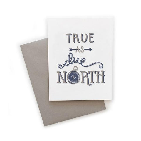 Due North Card