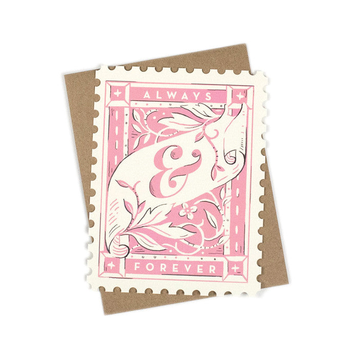 Forever Stamp Card