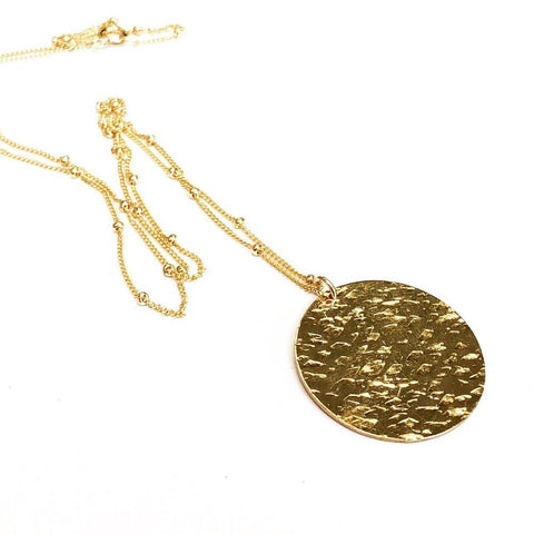Cassidy Gold Pendant Necklace