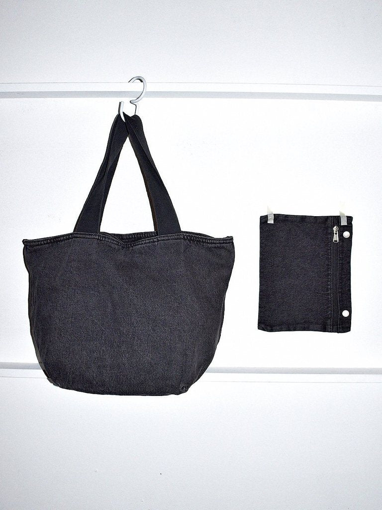 Canvas Zip Tote Bag