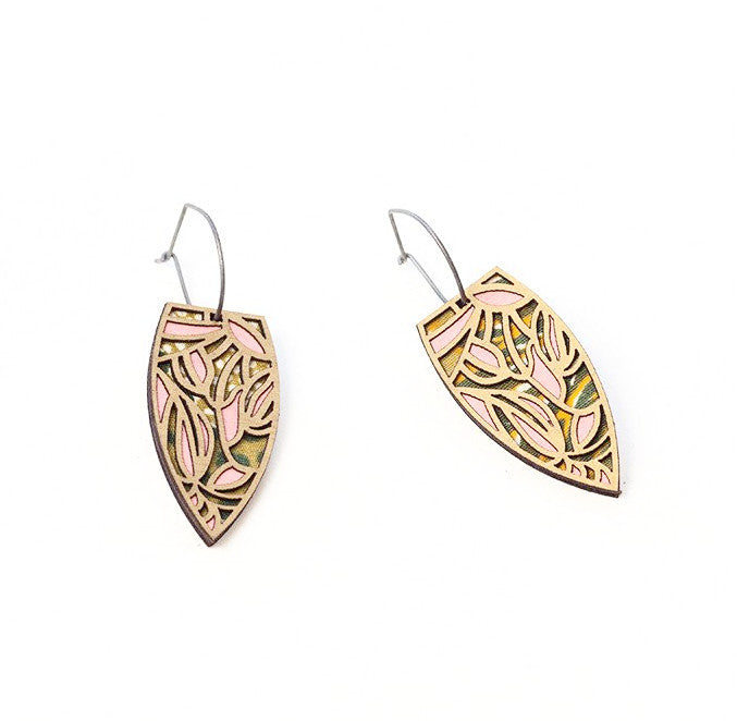 Batik Earrings