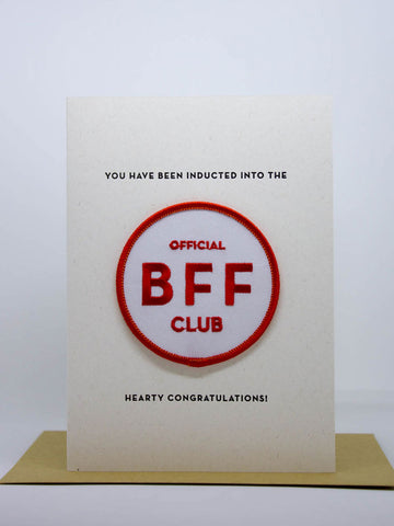 BFF Club Card & Patch