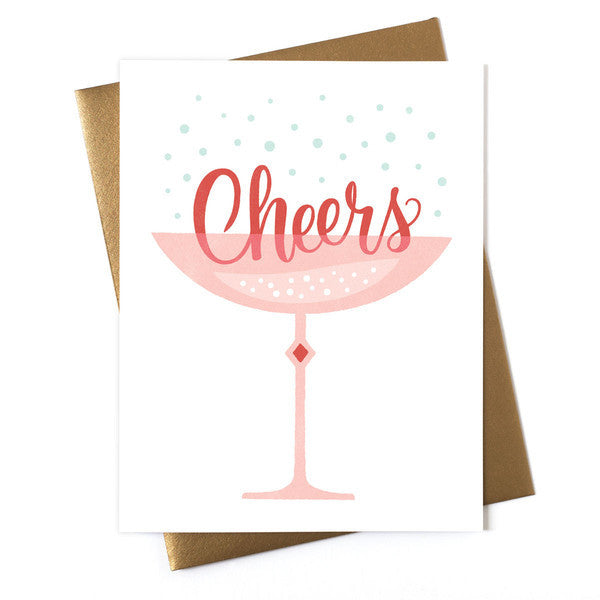 Cheers Coupe Card