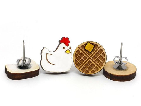Chicken and Waffles Studs