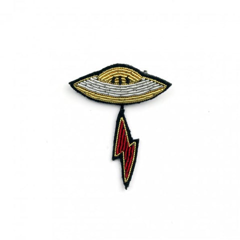 Spaceship Pin