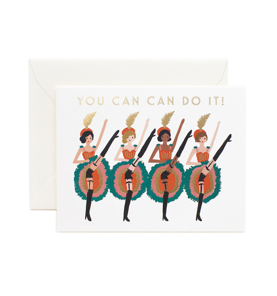 Can Can Do It Card