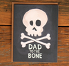Dad to the Bone Card