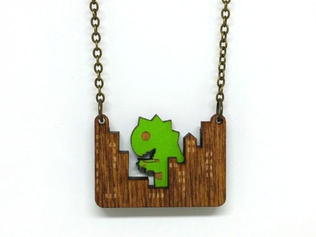 Monster Attack Necklace