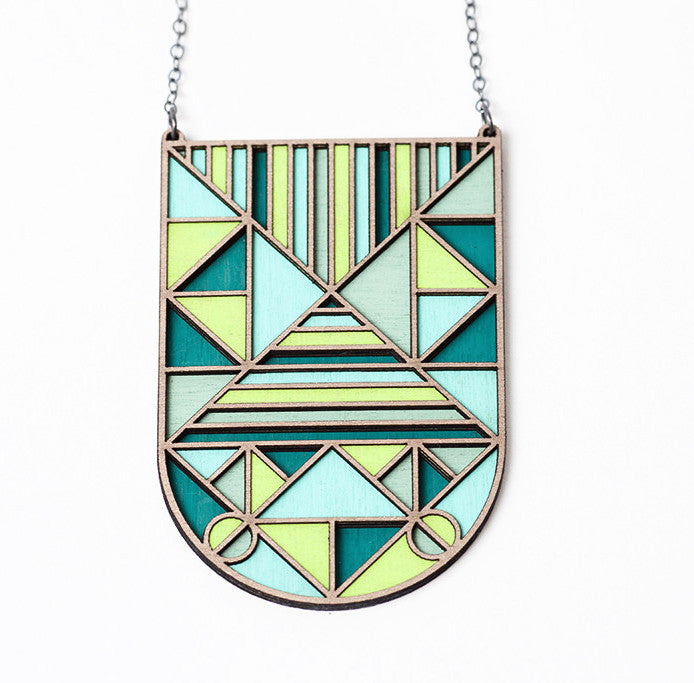 Green Deco Necklace