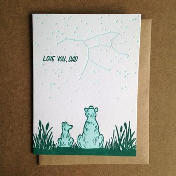 Dad Bear Card