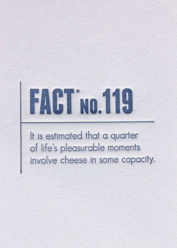 Cheese Stats Card