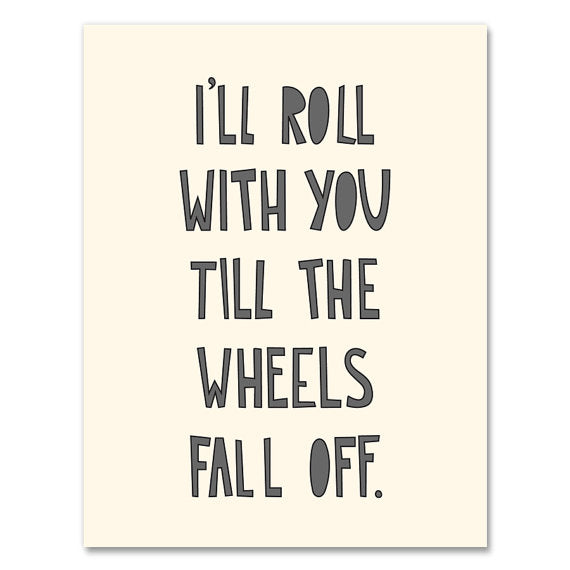 Roll with You Card