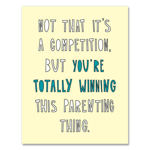 Winning Parent Card