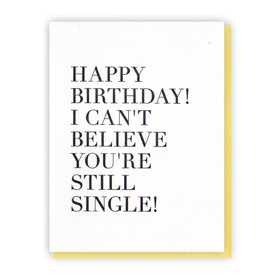 Birthday Single Card