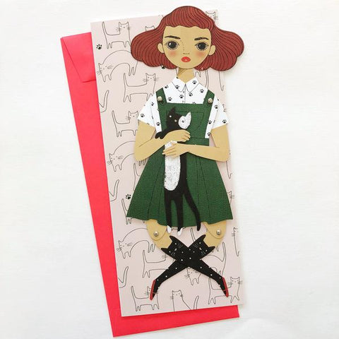 Penelope Mailable Paper Doll