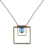 Albers Square Necklace