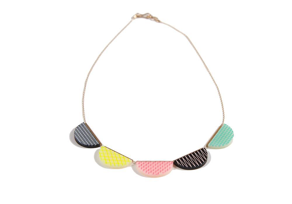 Colorful Acrylic Necklace