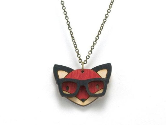 Nerd Fox Necklace
