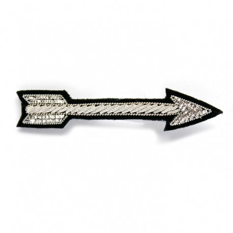 Silver Arrow Pin